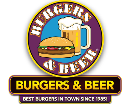 the gallery for gt burger and beer joint logo